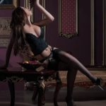 Escort agency in Turkey present for your look Inga who's eating grapes in completely seducing manner