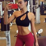 Outcall escorts girl Slava is in the gym, showing us her immaculate body