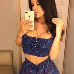 Ankara escort girls service presents Hermione who takes a snap of her in a mirror