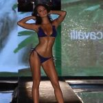 Outcall escorts girl Slava is on a podium showing the must-have body and great face